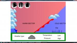2g) UK climate- depression weather animation