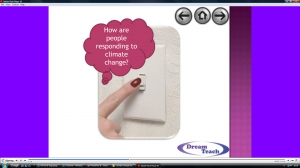c) Climate change response question time image