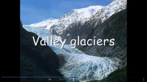 1a) An introduction to glaciation- movie