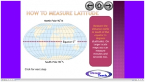 6d) Using an atlas- latitude and longitude presentation image