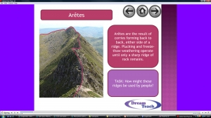 3c) Glacial features- other mountain features presentation image