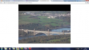 North Wales from the air photograph slideshow
