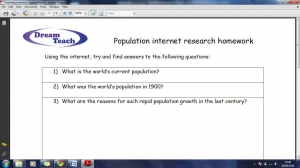 POP1 Population research homework image
