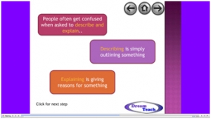 8b) Other skills- describing and explaining presentation image