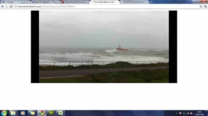1b)An introduction to coasts- storm video footage image