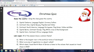 Christmas quiz questions image