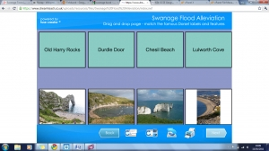 Swanage flood alleviation activites