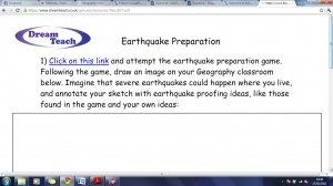 TEC3 Earthquake preparation image