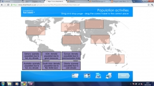 Population interactive activities