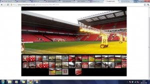 English Premier league- football ground slideshow