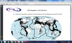1d) Earthquake distribution worksheet