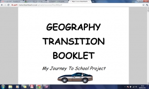 b) Transition booklet PDF image