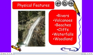 b) Task 1- Physical and human features