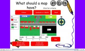 c) Task 2- Map of my school journey