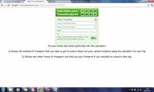 k) Task 9- My school journey carbon footprint calculator image