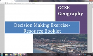 Decision making exercise- resource booklet
