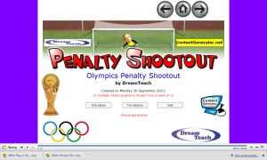 Olympics penalty shootout