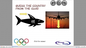 Olympic host country catchphrase image