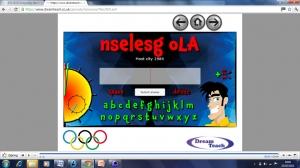 Olympics- host half a min