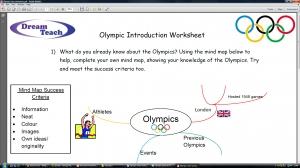 Olympics 2012- Introduction worksheet