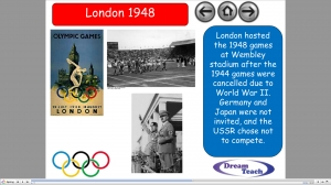 Olympics 2012- introductory presentation image