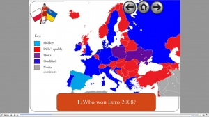 Euro 2012 Map work starter image