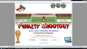 Euro 2012 penalty shootout image