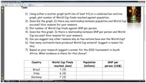 2014 World Cup- winners worksheet (harder version) image