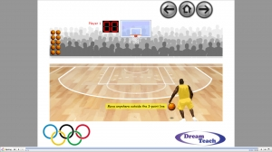 Olympics HoopShoot Game image