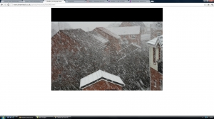 Weather photograph slideshow